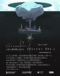 Secret Sky Festival Flyer - Porter Robinson
