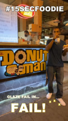 The Donut Man DTLA - 15 Second Foodie - Glazed Donut