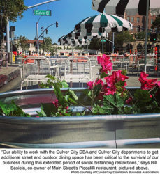 Reconfigured Downtown Culver City Is Safe And Thriving