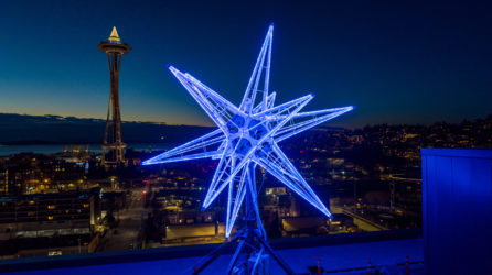 The Kilroy Stars Seattle Night View