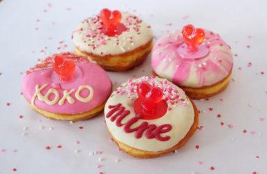 Valentine's Day Donut Box Sets