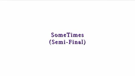 SomeTimes (Semi-Final) Marq Robinson